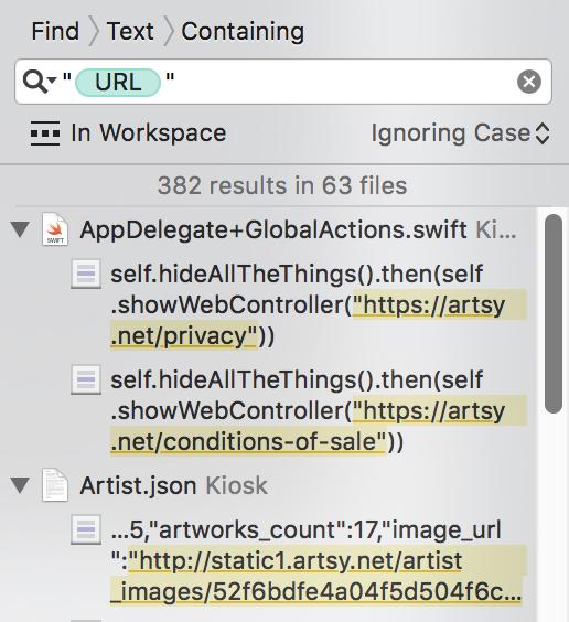 Strings Representing URLs